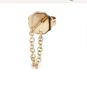 MARIA TASH 14k chain piercing loop